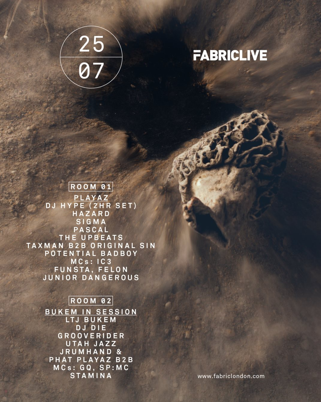 Fabriclive: Playaz & Bukem In Session at Fabric LDN
